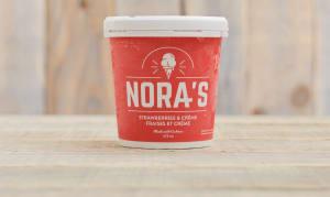 Strawberries & Creme Non-Dairy Ice Cream- Code#: FD0009