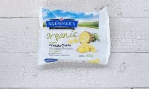 Organic Pineapple (Frozen)- Code#: FZ602