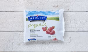 Organic Strawberries (Frozen)- Code#: FZ603