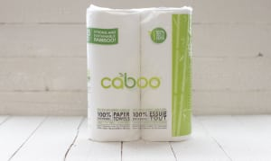 100% Tree-less Paper Towels<br>2x115ct - Code#: HH944