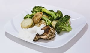 Greek Chicken with Lemon Potatoes and Broccoli- Code#: KIT0061