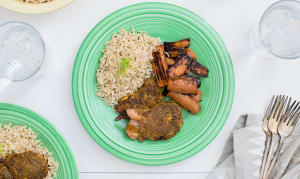 Indian Spiced Chicken Thighs- Code#: KIT0082