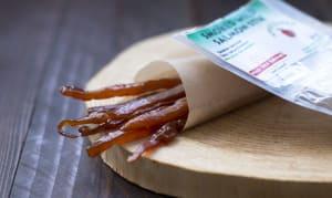 Smoked Wild Salmon Stix - Apple Cured- Code#: MP0013