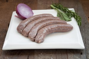 Postmark Stout & Beef Sausage... ~480g - 4 Sausages - Code#: MP846