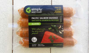 Chorizo Style Wild Pacific Salmon Sausages (Frozen)- Code#: MP8154