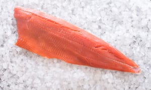 Wild Whole Salmon Sides -  MEDIUM ~600-900g (Frozen)- Code#: MP3301