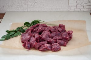 Grass Fed Dry Aged Beef Stew (Frozen)- Code#: MP3874