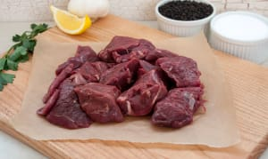Grass Fed/Grass Finished Beef Stew Meat (Frozen)- Code#: MP732