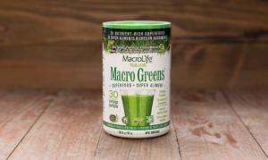 Organic Macro Greens - 30 day- Code#: PC1250