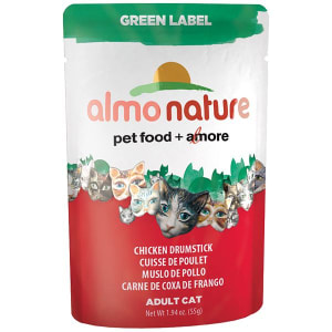 Green Label Chicken Drumstick Cat Food- Code#: PD100