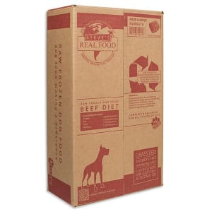 Raw Grass-Fed Beef Nuggets for Dogs (Frozen)- Code#: PD115