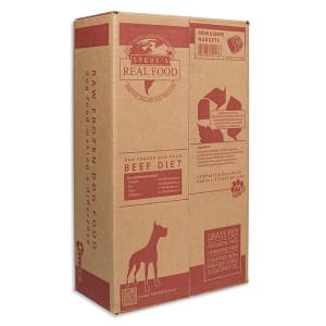 Raw Grass-Fed Beef Patties for Dogs (Frozen)- Code#: PD120