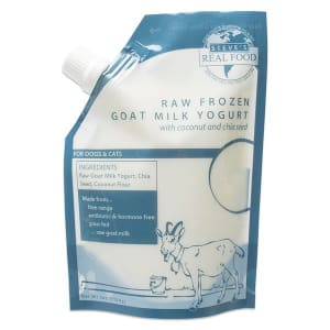 Raw Goat Milk Yogurt with Coconut & Chia For Dogs (Frozen)- Code#: PD129