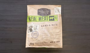 Lamb & Rice Dog Food — No Rendered Meat!- Code#: PE1220