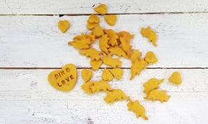 Mini Dino Love Cheddar Dog Treats- Code#: PE3652