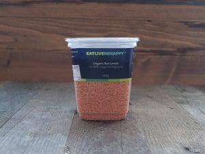 Organic Red Lentils- Code#: PL003