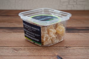 Organic Crystallized Ginger- Code#: PL016