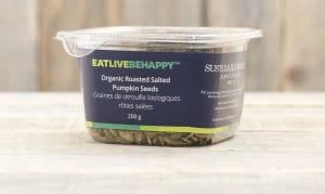 Organic Roasted & Salted Pumpkin Seeds- Code#: PL050
