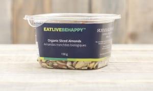 Organic Sliced Almonds- Code#: PL053