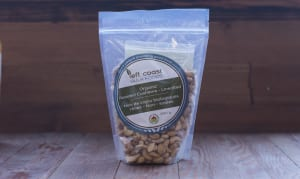 Organic Whole Cashews - Roasted & Unsalted- Code#: PL509