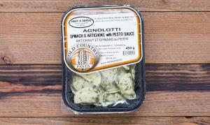 Spinach Artichoke Agnolotti with Pesto ... 450 g - Code#: PM158