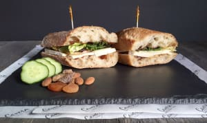 Brie + Fig Jam + Apple Baguette + Greens- Code#: PM8029