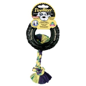 Tirebiter PawTracks with Cotton Rope - 4 - Code#: PS175
