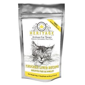 Heritage Artisan Cat Treats - Chicken Liver Recipe- Code#: PT519