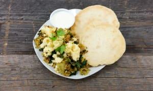 Greens, Eggs & Naan- Code#: PM3076