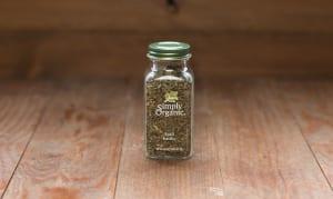 Organic Basil Leaf in Glass Bottle- Code#: SA0130