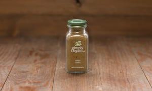 Organic Cumin Seed, Ground, in Glass Bottle- Code#: SA0134
