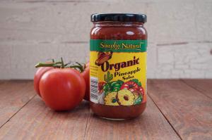 Organic Pineapple Salsa- Code#: SA088