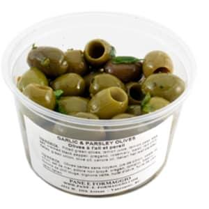 Garlic & Parsley Olives- Code#: SA652