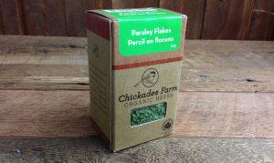 Organic Parsley Flakes- Code#: SA8012