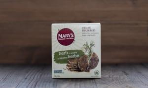 Organic Herb Crackers- Code#: SN007