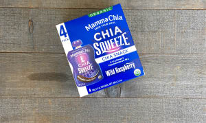 Organic Chia Squeeze Wild Raspberry- Code#: SN0084