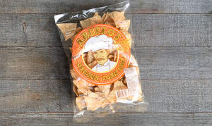 Organic Garlic Corn Tortilla Chips- Code#: SN0701