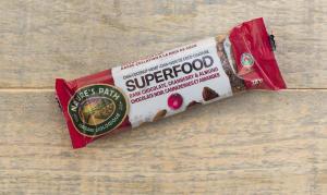 Organic Superfood Dark Chocolate Cranberry Almond Bar- Code#: SN0891