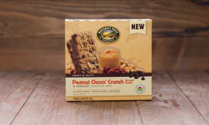 Organic Crunchy Peanut Choco Granola Bars with Ancient Grains- Code#: SN089