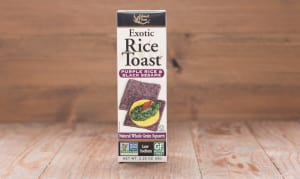 Exotic Rice Toast - Purple Rice & Black Sesame- Code#: SN1221