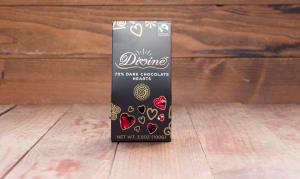 Dark Chocolate Hearts (70%)- Code#: SN3056