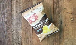 Organic Indian Spice Popcorn- Code#: SN5600
