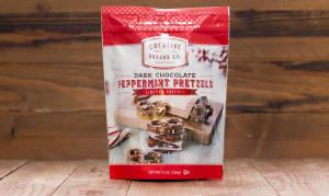 Peppermint Dark Chocolate Pretzels- Code#: SN6603