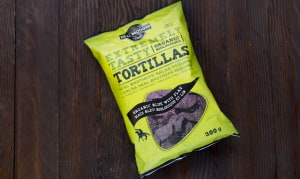 Organic Blue Corn Tortilla Chips With Flax- Code#: SN676