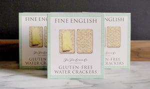 Gluten-Free Water Crackers- Code#: SN8021