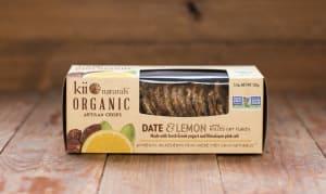 Organic Date & Lemon Crisps- Code#: SN8300