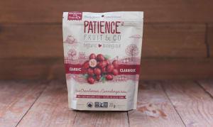 Organic Classic Dried Cranberries - Fruit Juice Sweetened- Code#: SN9555