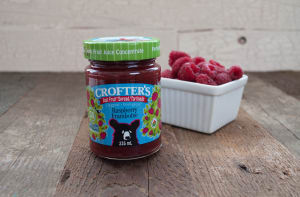 Organic Raspberry Just Fruit Spread- Code#: SP401