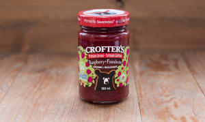 Organic Raspberry Premium Fruit Spread, Family Size- Code#: SP402