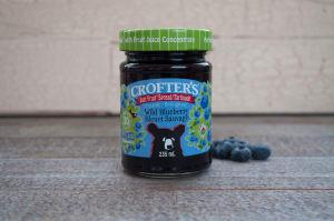 Organic Wild Blueberry Spread (Non-GMO Certified)- Code#: SP408